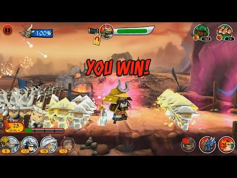 Прохождение Samurai vs Zombies [Самураи против Зомби] 1 часть
