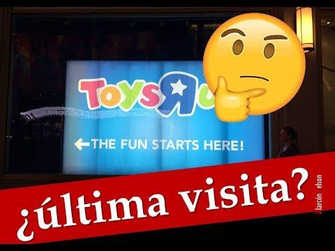 ¿La última visita a Toys'R'us?