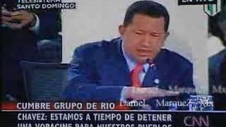 Chavez 2008 Cumbre Grupo Rio 1