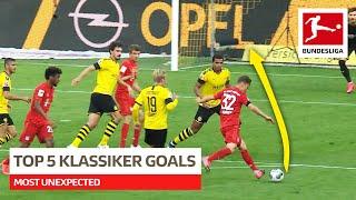 Most Unexpected Goals in Der Klassiker Borussia Dortmund vs FC Bayern München