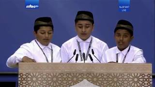 Beautiful Tarana - Atfal ul Ahmadiyya - Khilafat Ki Muhabbat Mein  - Jalsa Salana Germany 2018