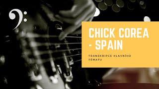 Chick Corea // Spain // hlavní melodické téma