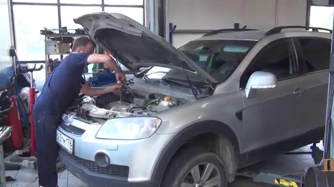 Тюнинг Chevrolet Captiva в студии светостайлинга ALFA-CAR. Билинзы .