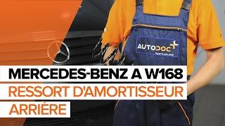 Comment changer Ressort MERCEDES-BENZ A-CLASS (W168) - video gratuit en ligne