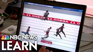 NBC News Learn: Science of the Summer Olymipics: Keeping Time thumbnail