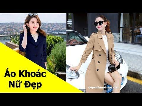 Top Mẫu áo Khoác Nữ đẹp | 50 Áo Khoác Kaki Nữ đẹp Thời Trang Phần 3