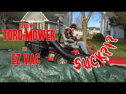 Review -Toro Lawn Mower & EZ Vacuum - Does it suck?!?