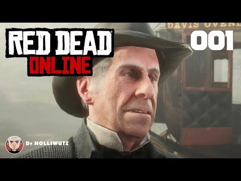 Red Dead Online gameplay german #001 - Abhauen aus dem Sisika Gefängnis [XB1X] | Let's Play RDR 2