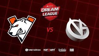 Virtus.pro vs Vici Gaming, DreamLeague Season 11 Major, bo5, game 1 [4ce & Lex]