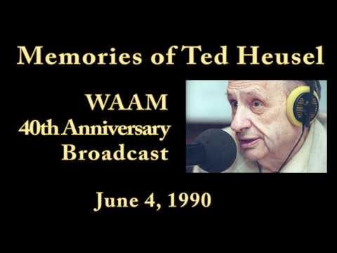 Ted Heusel WAAM 40th Anniversary Broadcast Ann Arbor Michigan