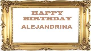 Alejandrina   Birthday Postcards & Postales - Happy Birthday