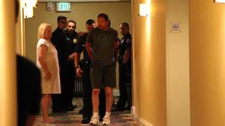 fight in hotel hallway of crowne plaza in alberquerque part 5 of 5