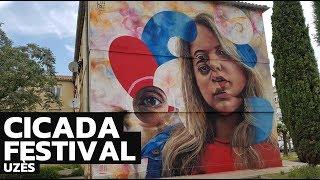 Video Cicada festival, street art in the heart of the city of Uzès download MP3, 3GP, MP4, WEBM, AVI, FLV November 2018