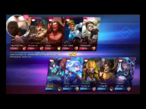 Tonton saya bermain Mobile Legends: Bang Bang melalui Omlet Arcade!