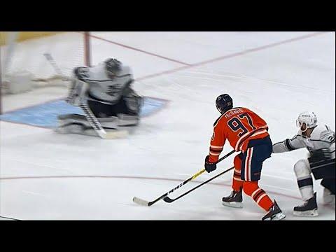 McDavid takes NHL scoring lead with goal vs. Kings