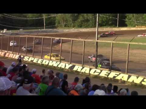 Eriez Speedway Challenger Heat Races 7-30-17