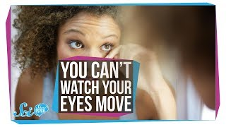 Why You'll Never See Your Eyes Move in a Mirror