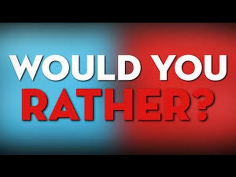 Pee Yourself Or Poop Yourself! | Would you Rather