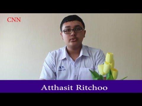 English News (อ่านข่าวภาษาอังกฤษ) By Atthasit Ritchoo Class 6/3 No.7