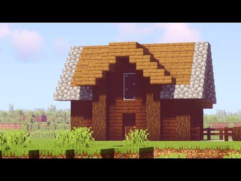 Spacious Yet Simple - Minecraft Starter House Tutorial
