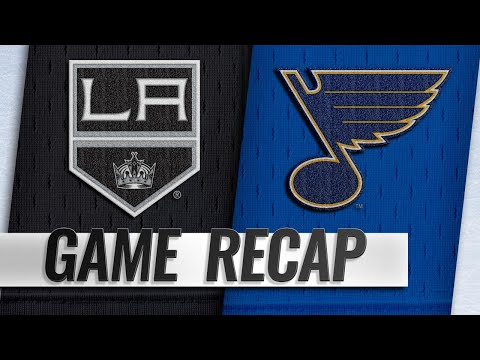 Petersen earns first shutout to lead Kings by Blues