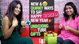 Fun & Quirky Ways To Wish Happy New Year 2020 Learn English Greetings & Wishes For The New Year