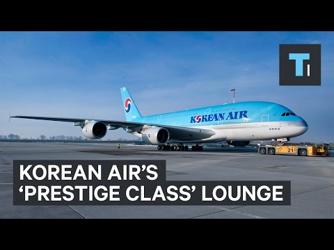 We visited Korean Air's