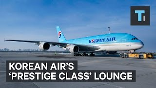 We visited Korean Air's 'Prestige Class' lounge — here's what it's like