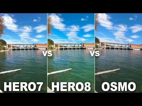 GoPro HERO8 Black vs. GoPro HERO7 Black vs. DJI Osmo Action (HyperSmooth 2.0, Audio, Photos & More)