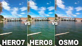 GoPro HERO8 Black vs. GoPro HERO7 Black vs. DJI Osmo Action (HyperSmooth 2.0, Audio, Photos & More)