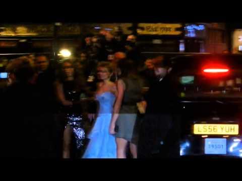 Spice Girls arrive to Viva Forever red carpet