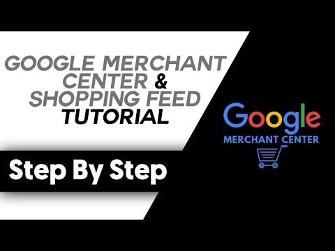 Shopify Dropshipping Google Merchant Center & Shopping Feed Tutorial (2020 Update) thumbnail