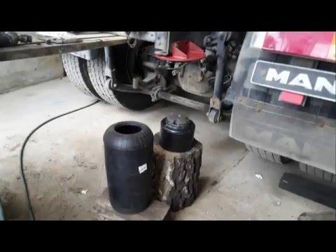 Aktualne Poduszki-miechy pneumatyczne zawieszenia montaż - YouTube EI71