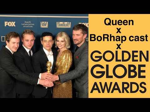 Queen and BoRhap cast moments from the Golden Globes 2019 Mp3