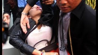 Nikita Mirzani pingsan usai sidang - WasWas 24 Jan 2013