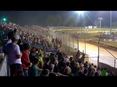 Modified feature race at Florence speedway 8/12/17