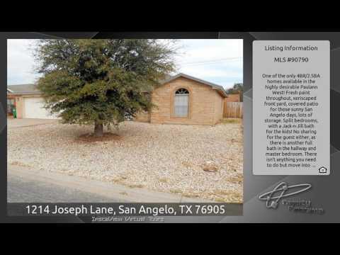 1214 Joseph Lane, San Angelo, TX 76905