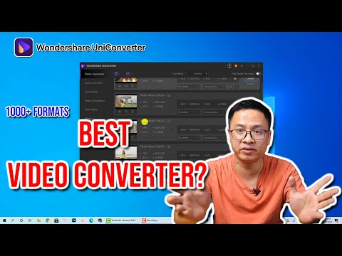 Best Video Converter For PC - Wondershare UniConverter Review and Tutori...