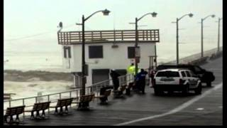 Lifeguard Building Washed Away In Irene Storm Surge