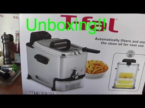 Unboxing T-fal EZ Clean 3.5L Deep Fryer