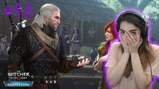 GERALT CHEATS WITH SHANI?! - The Witcher 3: Wild Hunt (Hearts of Stone Playthrough) - Part 46