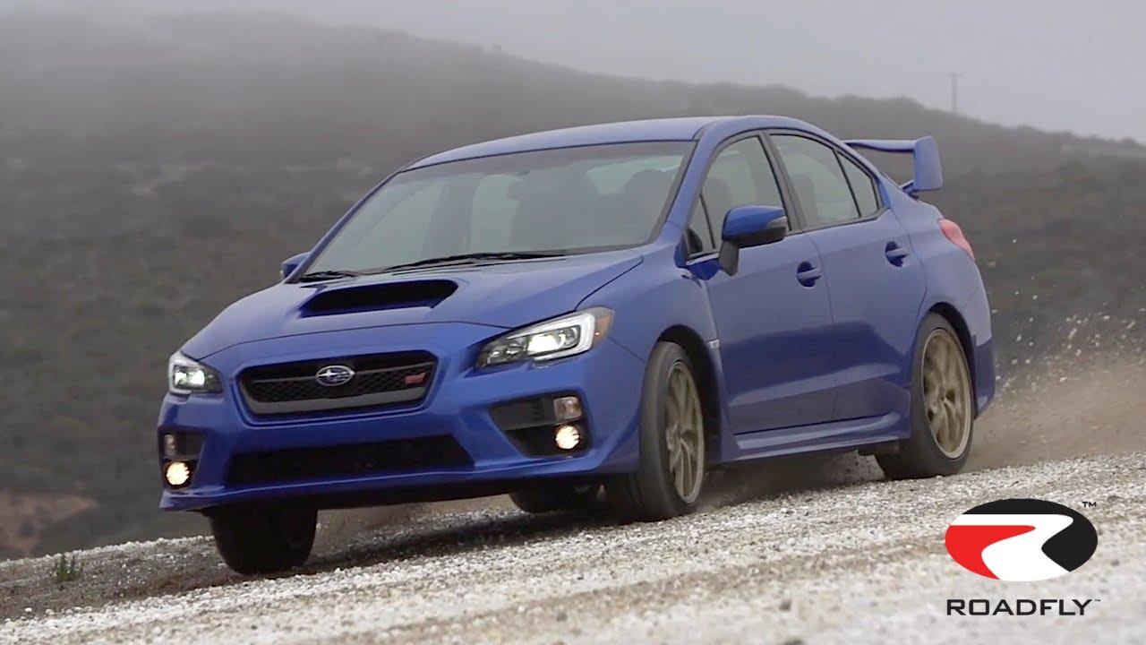 2015 Subaru Wrx Sti Review Track Time With Charlie Romero By