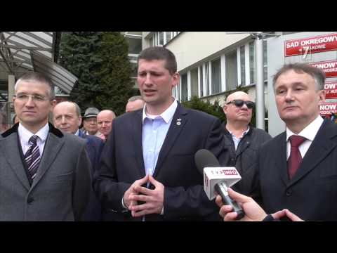 Konferencja prasowa Marka Majchra Mareckiego / Zamach krzesłem na Prezydenta