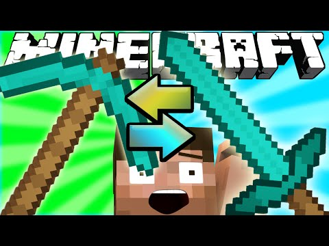 Thumbnail: If Swords and Pickaxes Switched Places - Minecraft