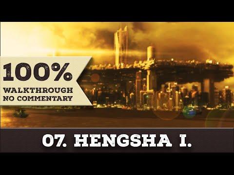 Deus Ex: Human Revolution Walkthrough (All Achievements, Give Me Deus Ex) part 7 HENGSHA 1ST VISIT