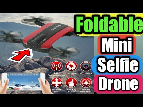 Best Selfie Drone/Foldable Selfie Drone Dron Tracker Phone Control/HD Camera