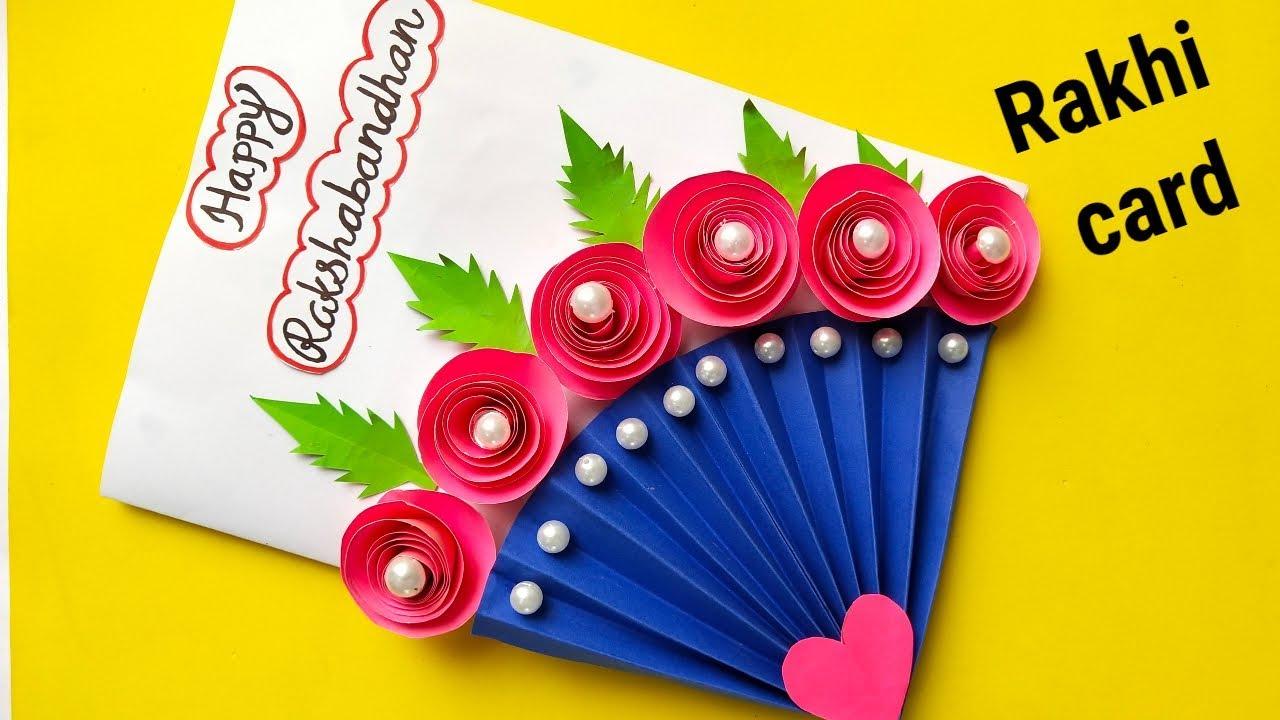 How to make Rakshabandhan card at home/ DIY Rakhi card/ Rakshabandhan 4.