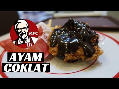 COBAIN AYAM COKLAT KFC !! BARU !!