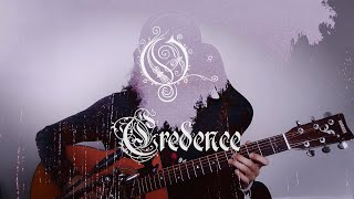 OPETH - Credence - Vocal & Guitar Cover