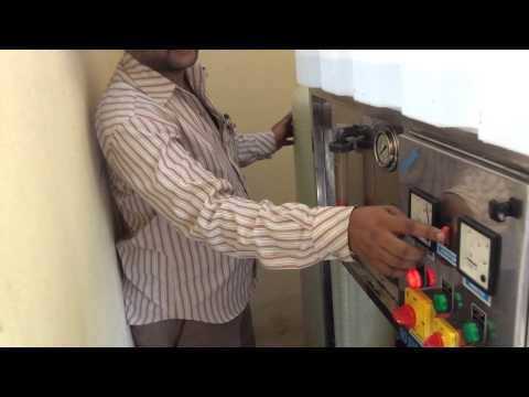 How to operate the Mini Water Plant (In Telugu)